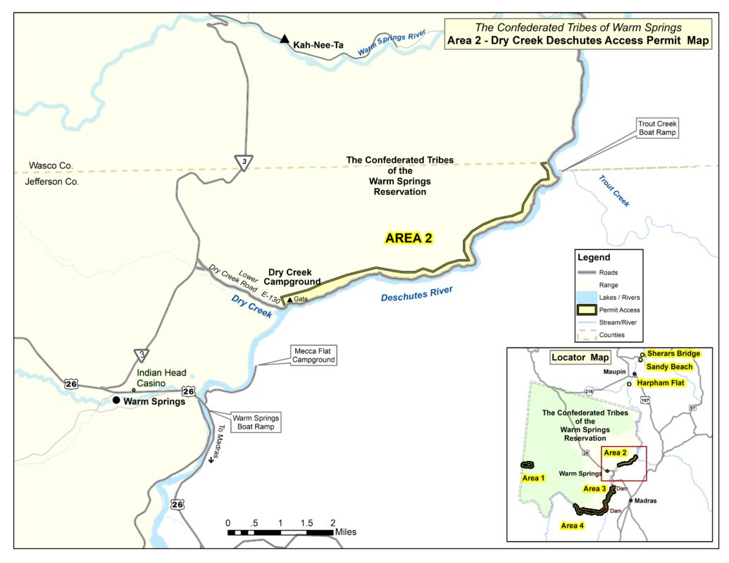 Deschutes River (Area 2) - Department of Fisheries on